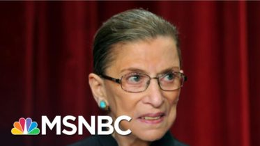 Remembering Ruth Bader Ginsburg As A Trailblazer And Cultural Icon | Andrea Mitchell | MSNBC 10