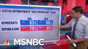 How The Supreme Court Fight Will Affect The Election | MTP Daily | MSNBC 4