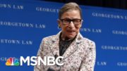 Supreme Court Justice Ruth Bader Ginsburg: 'Law Is Not ... An Abstract Exercise' | MTP Daily | MSNBC 5