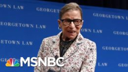 Supreme Court Justice Ruth Bader Ginsburg: 'Law Is Not ... An Abstract Exercise' | MTP Daily | MSNBC 1