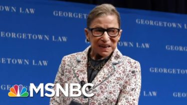 Supreme Court Justice Ruth Bader Ginsburg: 'Law Is Not ... An Abstract Exercise' | MTP Daily | MSNBC 6