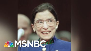 Ruth Bader Ginsburg Leaves Behind Legal Legacy Promoting Equal Rights | Andrea Mitchell | MSNBC 6