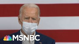 Joe Biden: 'President Donald Trump Panicked' And Coronavirus Was 'Too Big' For Him | MSNBC 2