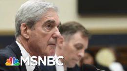 Mueller Insider Says Special Counsel's Investigation Fell Short | Deadline | MSNBC 5