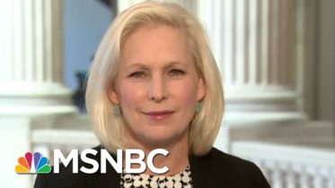 Sen. Gillibrand: 'McConnell Makes Rules For Others And Not For Himself' | Katy Tur | MSNBC 6
