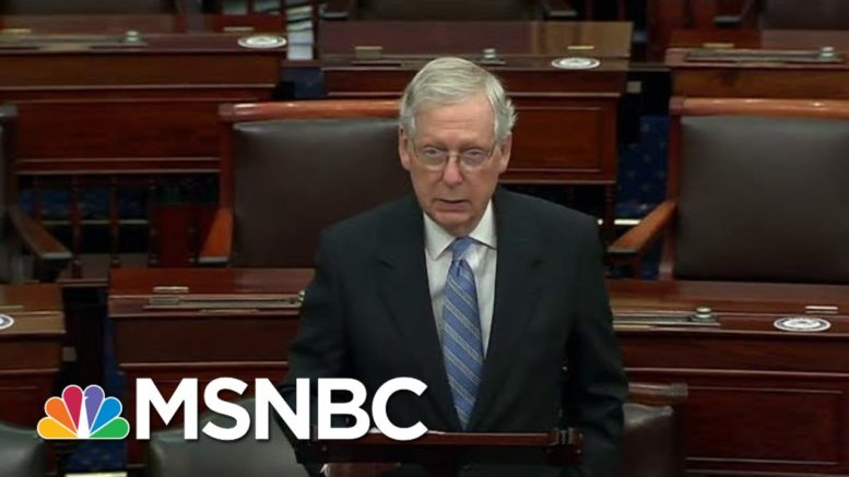 "Elie Mystal: SCOTUS Can't Be Dictated By McConnell's ""Whims"" 