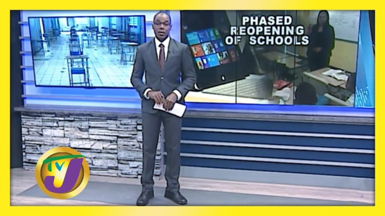 Education Minister Outlines Phased Reopening of Schools - September 18 2020 1