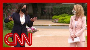 Kamala Harris visits Howard University, her alma mater, with CNN 6