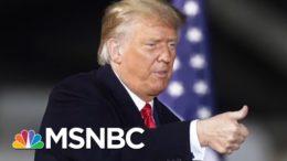 During Rally, Trump Says Virus Affects 'Virtually Nobody' | Morning Joe | MSNBC 4
