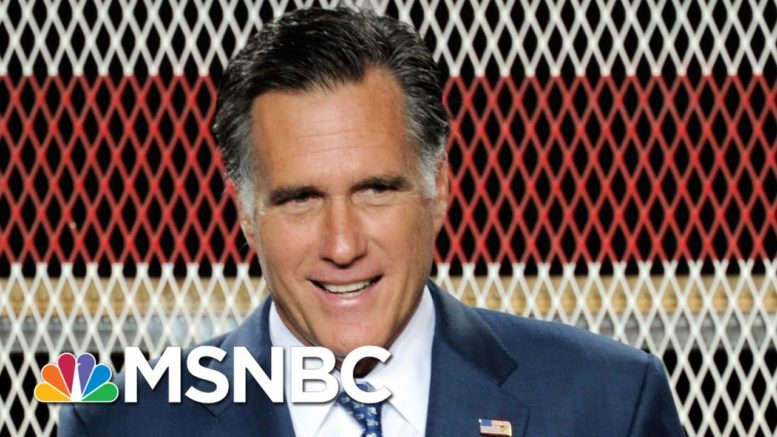 Romney: Decision To Hold Vote On Trump's Supreme Court Nominee 'Consistent with History' | MSNBC 1