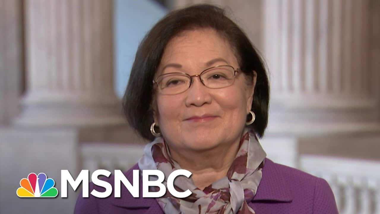 Sen. Hirono: Biggest Tool We Have Is The Knowledge That Americans 'Are Going To Get Screwed'   MSNBC 7