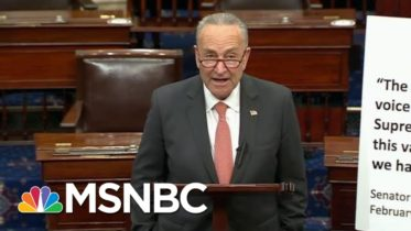 To Stop Trump, Liberals Tell Schumer To End Fruitless Search For GOP Votes | MSNBC 6