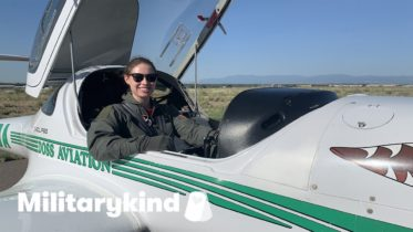 Airman strives to fly a F-16 just like her dad | Militarykind 10