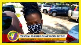 Cops Trial for Mario Deane's Death Put Off - September 21 2020 8