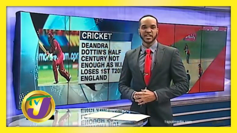 W.I. Women Fall by 47 Runs to England in 1st T20 - September 21 2020 1