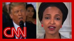 Ilhan Omar responds to Trump's racist attack: He spreads the disease of hate 9