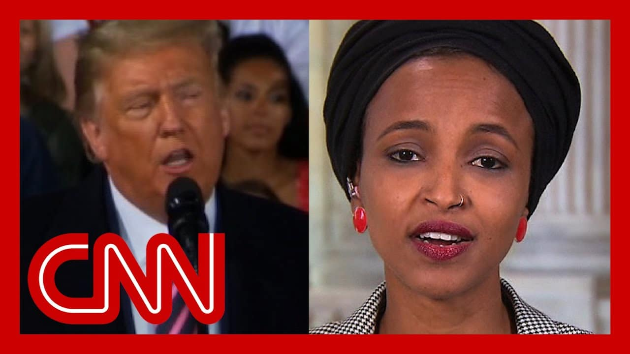Ilhan Omar responds to Trump's racist attack: He spreads the disease of hate 1