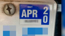 Ont. license plate sticker expired? Here's what you need to know 1