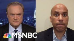 Sen. Booker: Please, Really Invest Yourself In The Election | The Last Word | MSNBC 3