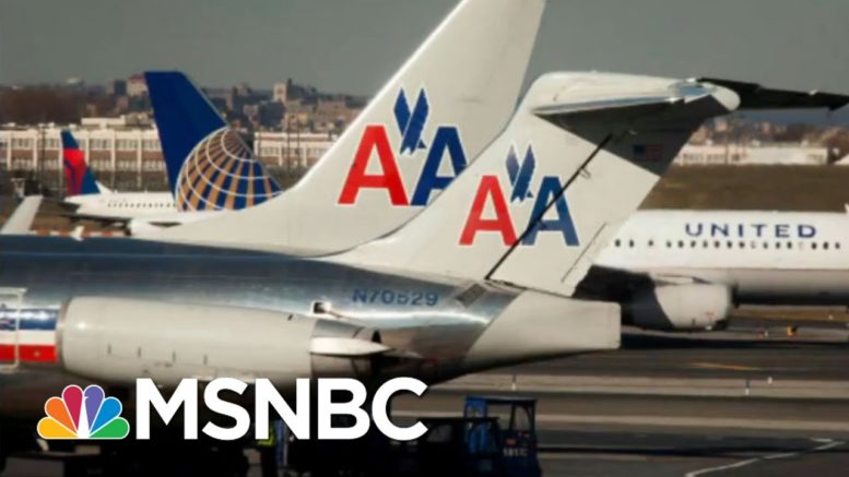 Struggling Airline Industry Requests Additional Federal Aid   Morning Joe   MSNBC 1