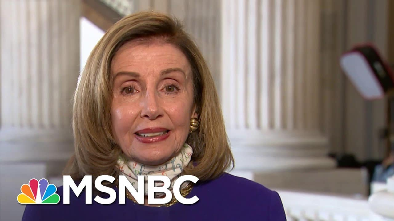 Pelosi On Trump Rushing To Fill The SCOTUS Vacancy: He Is 'A Master Of Diversion'   Deadline   MSNBC 2