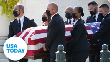 Ruth Bader Ginsburg to lie in repose   USA TODAY 6