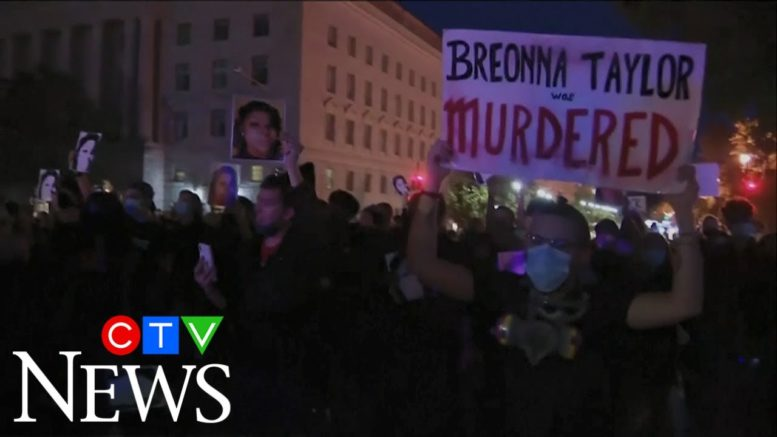 Protests erupt across the U.S. demanding justice for Breonna Taylor 1