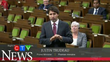 PM Trudeau defends throne speech in HoC 6