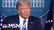 Trump On 2020 Election Results: 'This Is Going To Be The Scam Of All Time' | MTP Daily | MSNBC 4