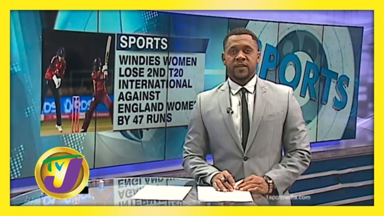 WI Women Trail 2-0 After Losing 2nd T20 International Against England Women - September 23 2020 1