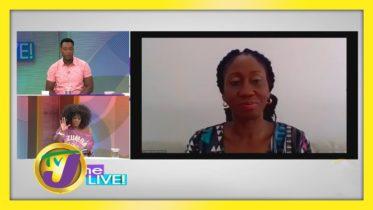 Diahann Gordon Harrison: TVJ Daytime Live Interview - September 22 2020 6