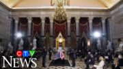 Tributes pour in as Ruth Bader Ginsburg lies in state 5