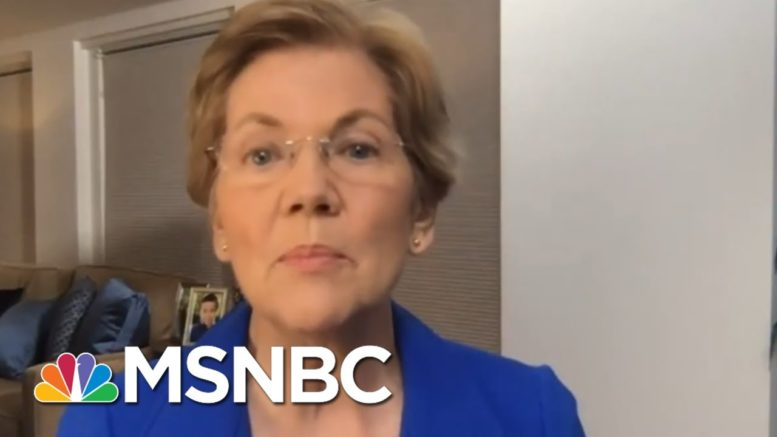 Warren: Trump Is 'Flirting With Treason' By Not Committing To Peaceful Transfer Of Power | MSNBC 1