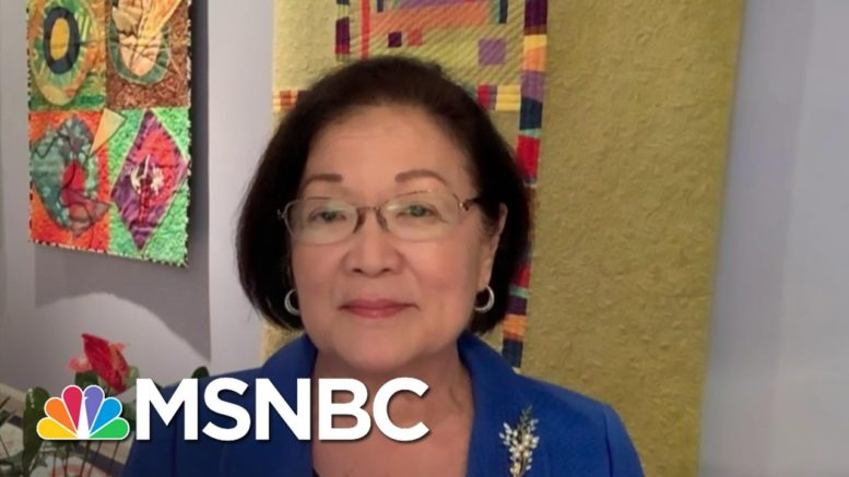 Sen. Hirono: Health Coverage Of Millions Of Americans On The Line | The Last Word | MSNBC 1