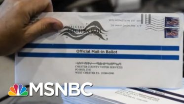 Record Voter Turnout In PA With Mail-In Ballots Bodes Well For Biden | Stephanie Ruhle | MSNBC 6