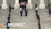 Members Of Congress Pay Respects As Casket Of Ruth Bader Ginsburg Departs U.S. Capitol | MSNBC 2