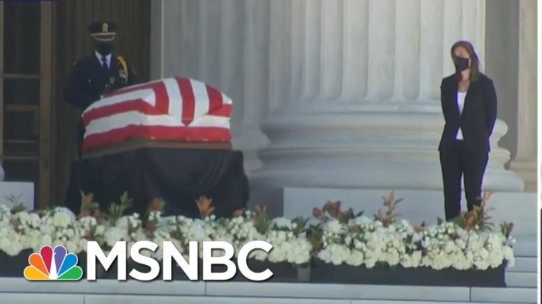 'She Made The World A Better Place': Justice Stephen Breyer Remembers Ruth Bader Ginsburg | MSNBC 1