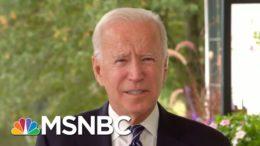 Joe Biden Criticizes Trump For 'Irresponsible, Outrageous Attacks On Voting'   MSNBC 9