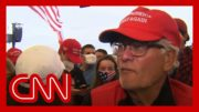 Acosta asks Trump supporters why they aren't wearing masks 4