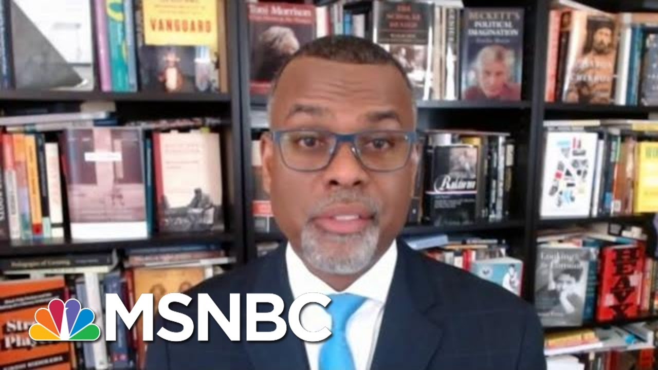Glaude: 'What We Are Witnessing… Is An All-Out Assault On American Democracy'   Deadline   MSNBC 1