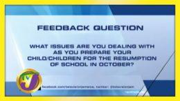TVJ News: Feedback Question - September 24 2020 6
