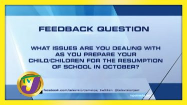 TVJ News: Feedback Question - September 24 2020 6