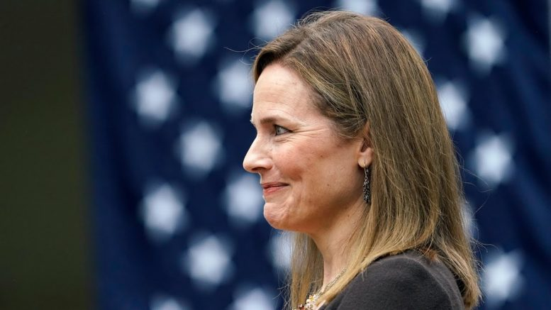 'I am truly humbled': Judge Amy Coney Barrett accepts Trump's nomination to the Supreme Court 1