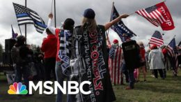 Portland Braces For Potential Violent Clashes Between Right-Wing Rally And Protesters | MSNBC 5