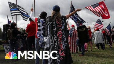 Portland Braces For Potential Violent Clashes Between Right-Wing Rally And Protesters | MSNBC 10