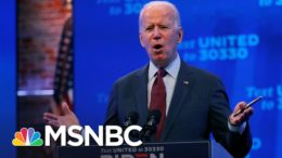 Biden: President Trump Is Trying To Throw Out The Affordable Care Act | MSNBC 1