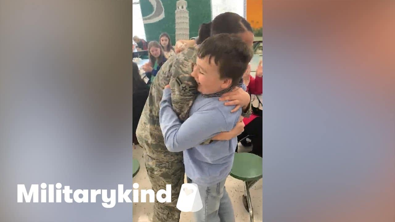 Airman makes brother's birthday wish come true | Militarykind 9