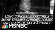 Trump Avoided Taxes For Years, Paid $750 In 2016: Report | Morning Joe | MSNBC 4