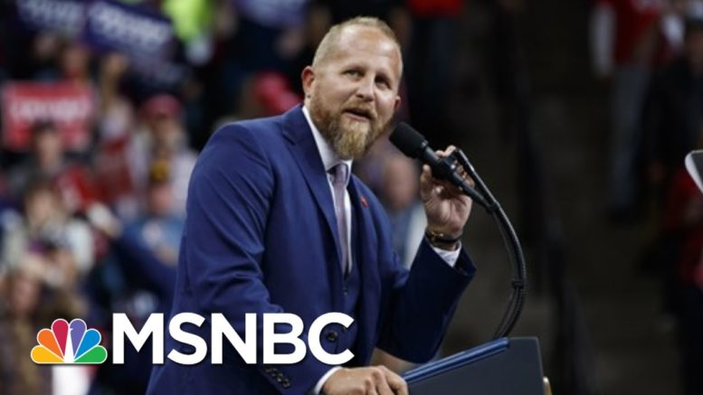 Fmr. Trump Campaign Manager Brad Parscale Hospitalized | Morning Joe | MSNBC 1