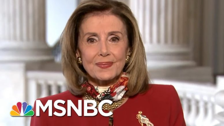 Pelosi: Trump's Debt Shown In Tax Records Poses A 'National Security Question' | MSNBC 1